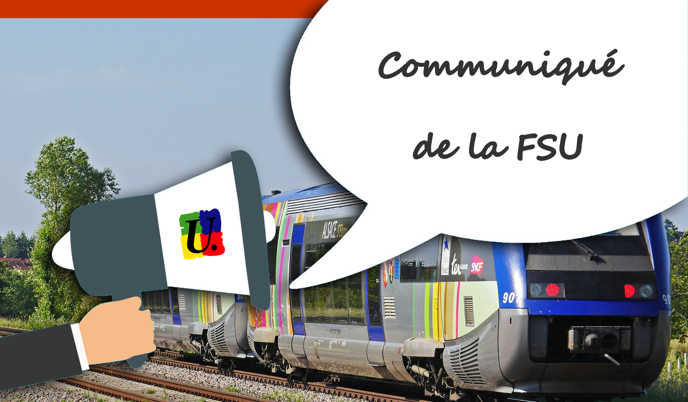 La FSU soutient les agent.e.s de la SNCF en grève