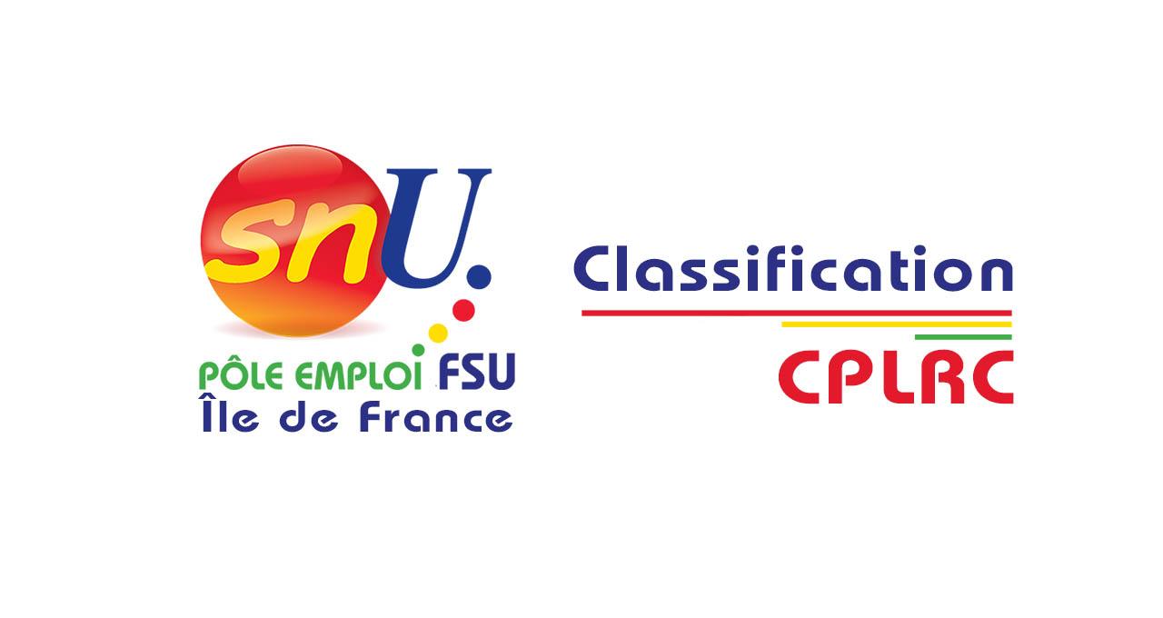 Recours Classification :  CPLRC ou «La fourberie de la direction régionale»